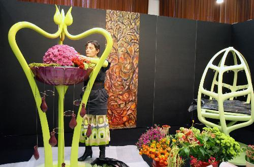 Nina Healey - New Zealand Interflora Florist of the Year 2009