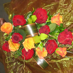 Coloured Roses - One Variety of Flower